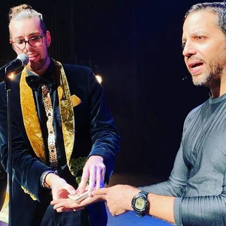 David Blaine baffled by Chris Cross