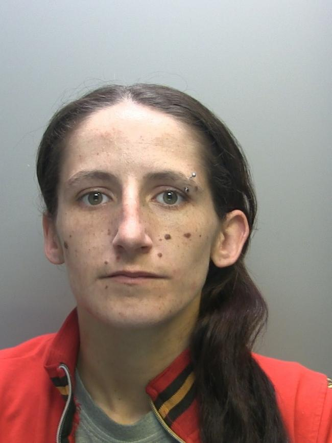 Corrina Kirkpatrick is wanted by police for recall to prison