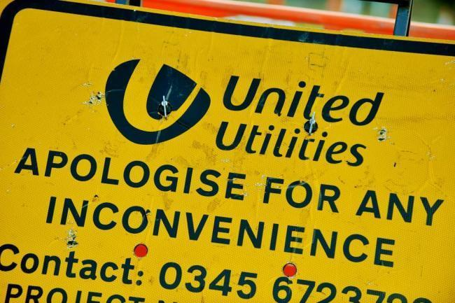 United Utilities will be closing a road for seven weeks