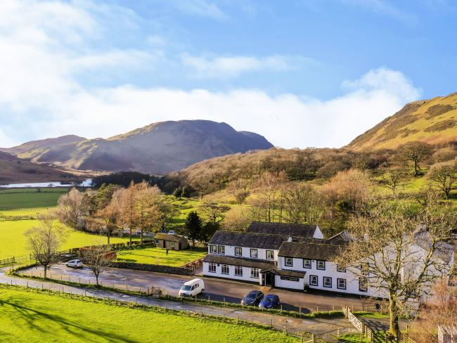 The Fish Inn at Buttermere is for sale