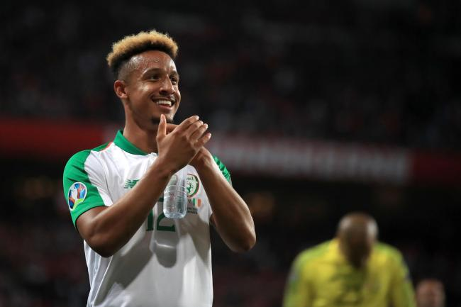 Republic of Ireland striker Callum Robinson has joined Sheffield United from Preston