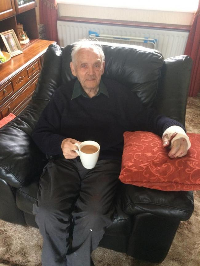 Ged Doran, 91, is still missing
