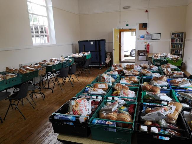 Village Hall To Pilot Food Project Times And Star