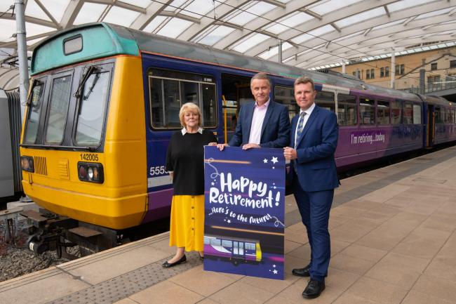 RETIREMENT: The first of the outdated Pacer trains has been retired. All are expected to be removed by the end of next year                 Picture: Northern Rail