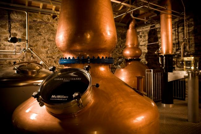 Partnerships: The Lakes Distillery, Bassenthwaite