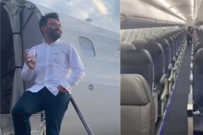 Man given his own private Delta flight after being the only one to turn up