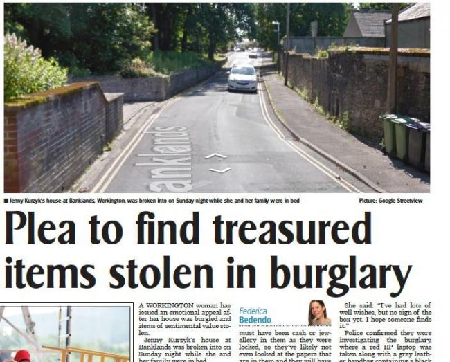 Flashback: How we reported the theft last week
