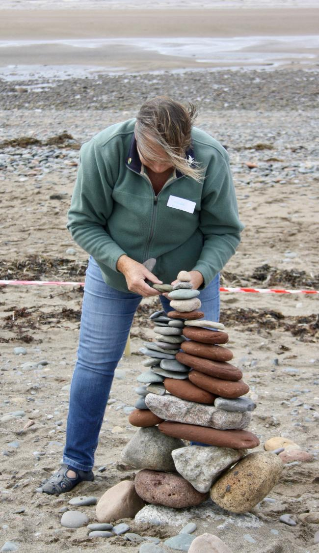 The art of stone stacking