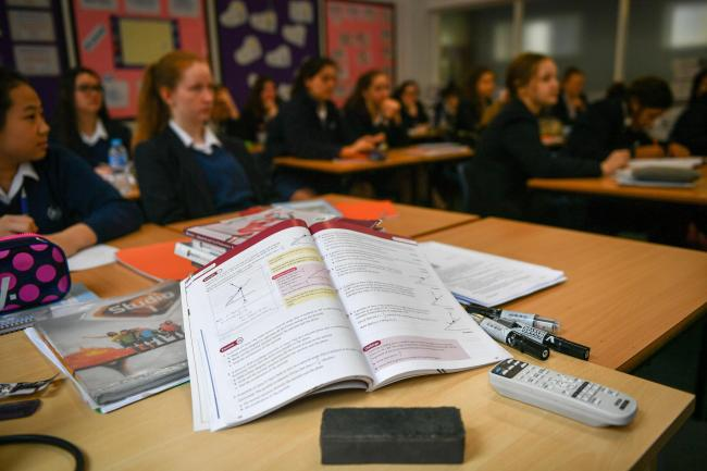 More than half of UK adults think it is likely that print textbooks will be obsolete by 2025 (Ben Birchall/PA)