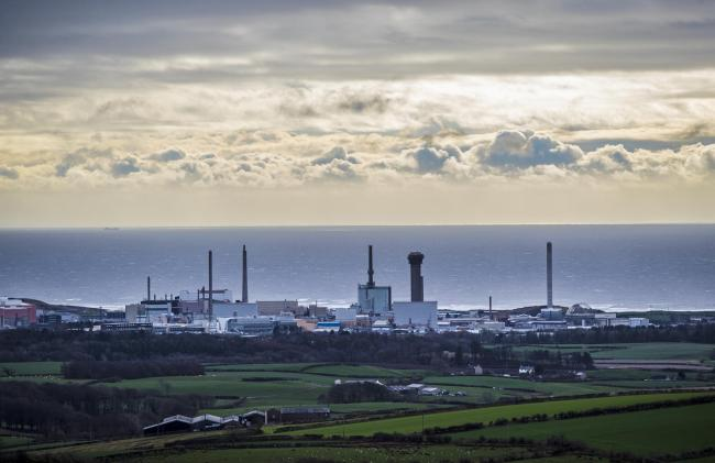 General view of Sellafield Nuclear power plant, in Cumbria..