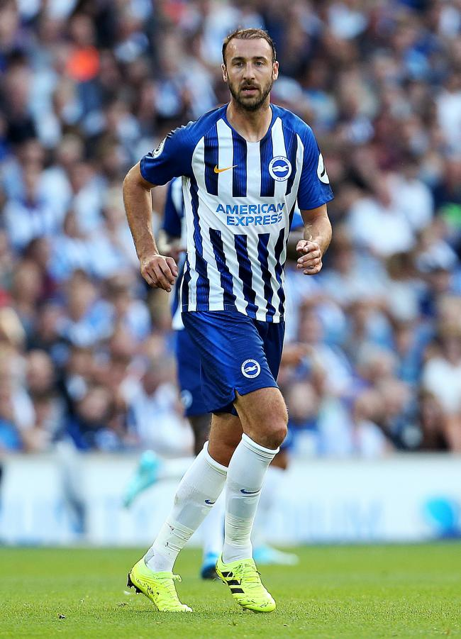 Cumbrian striker: Brighton's Glenn Murray
