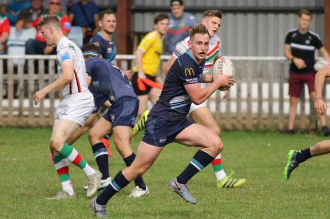 n Elliot Hall, pictured in action for Coventry, will join Chris Thorman's squad at Workington Town next season - and there are high hopes about the strong impact he will have at Derwent Park