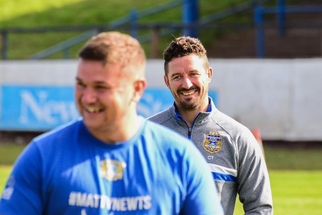n Workington Town head coach Chris Thorman is happy with recruitment progress ahead of the start of pre-season			             Picture: GARY MCKEATING