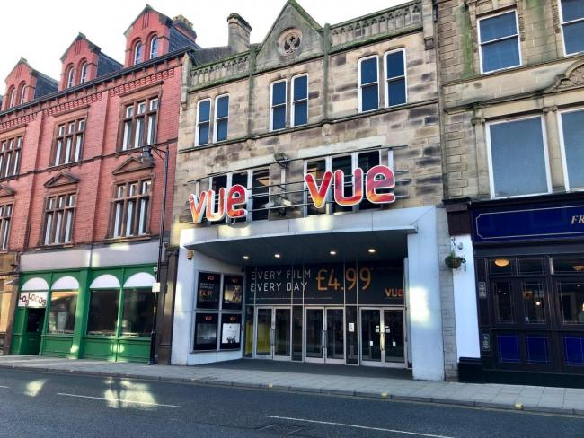 CINEMA: The Vue multiplex on Botchergate in Carlisle                      Picture: Kris Tatum