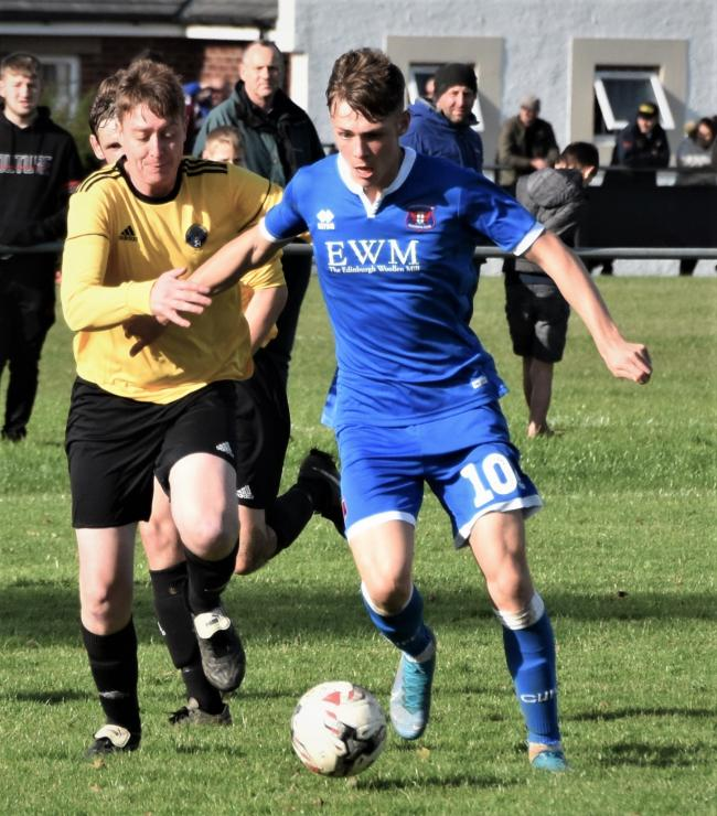 DYNAMIC: Danny Grainger believes loanee Taylor Charters can bring a lot to his midfield	             BEN CHALLIS