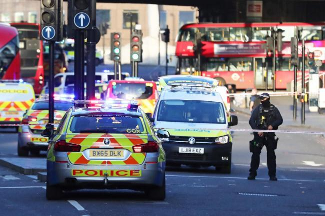 Man held by police following London Bridge stabbing