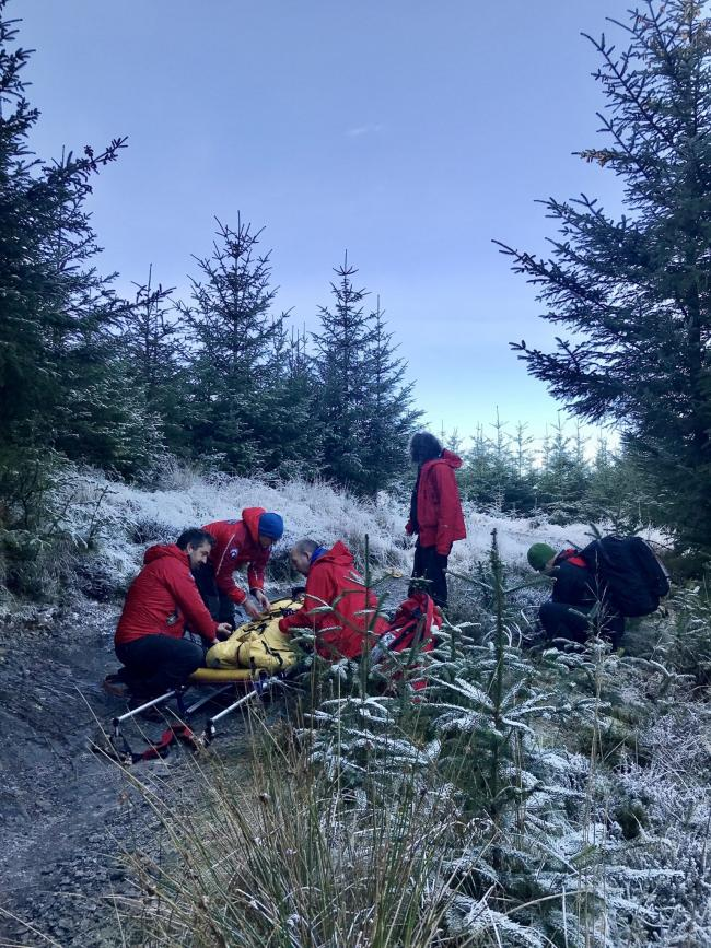 Keswick Mountain Rescue Team were called out on three occasions on December 1. Picture: Keswick MRT