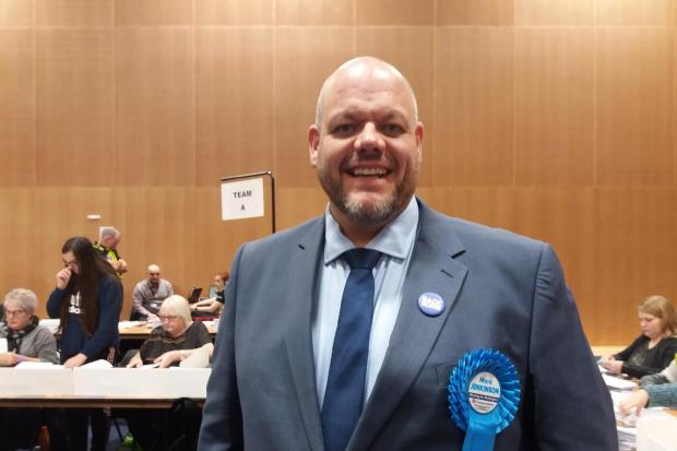 Mark Jenkinson is Workington's first Tory MP in 40 years. General election of December 13, 2019. Picture by Federica Bedendo