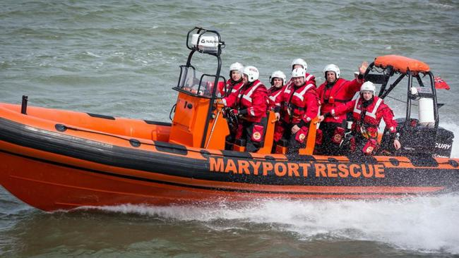 Maryport Inshore Rescue called out