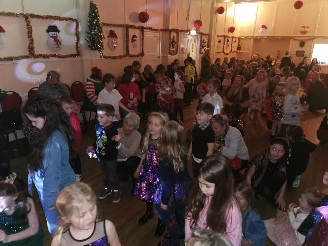 Seaton Village Hall's children's Christmas party in 2019 – now the hall will remain closed for public functions until further notice