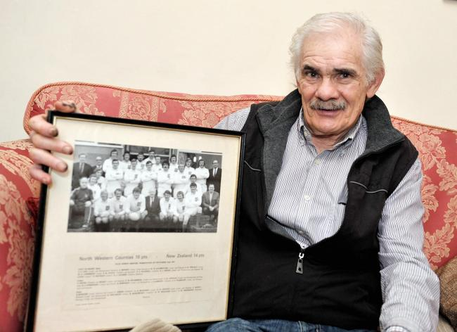 David Robinson of Dovenby Craggs Farm near Cockermouth played in the North Western Counties rugby team that beat theNew Zealand All Blacks 16-14 in 1972.
