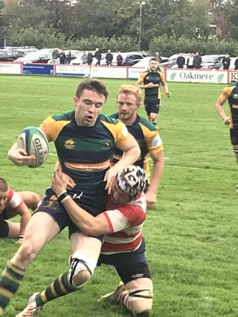 Ryan Weir scored Keswick's try against Vale of Lune