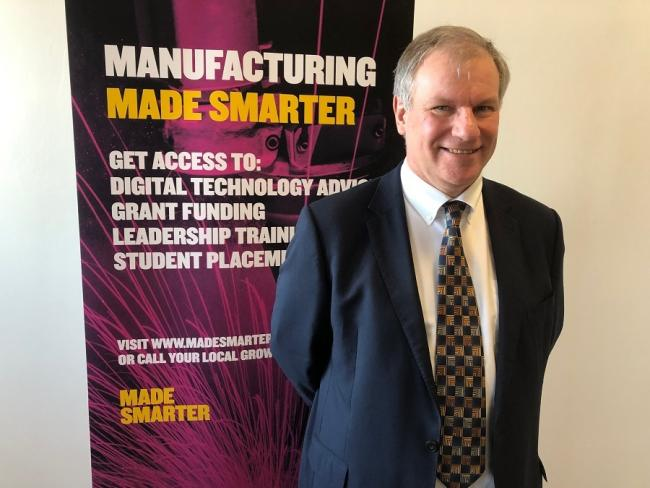 Alain Dilworth, Made Smarter programme manager