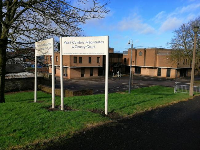North and West Cumbria Magistrates Court in Workington.