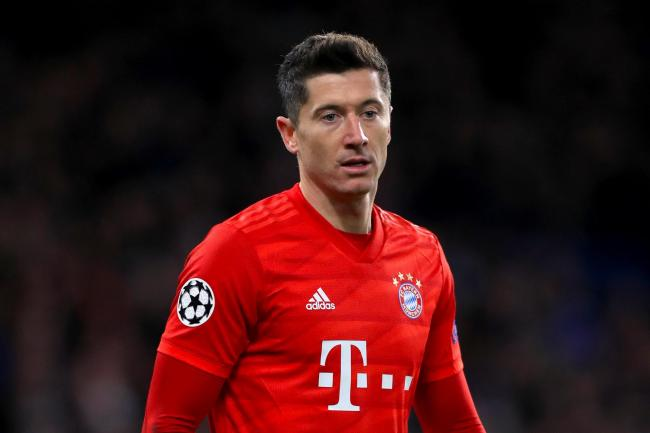 Robert Lewandowski is almost certainly out of Bayern Munich's next match against Chelsea
