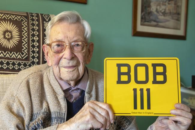 Bob Weighton, oldest man in England and the world