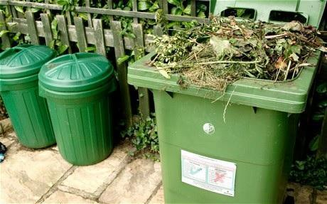 Residents will have to fork out £40 to have their garden waste emptied from June.