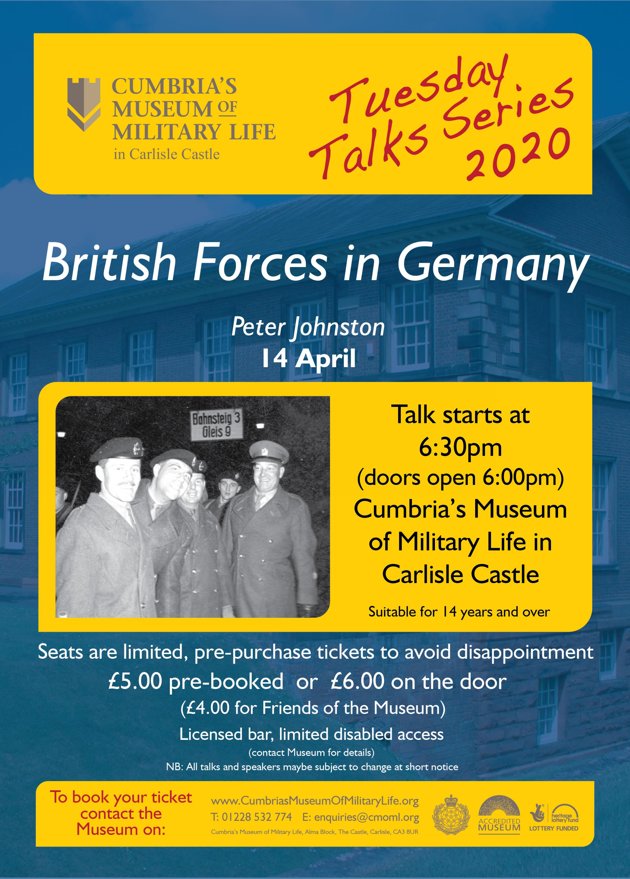 Tuesday Talk - British Forces in Germany