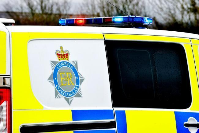 Cumbria Police were called to Castle Park, Whitehaven, where a man in his sixties has died