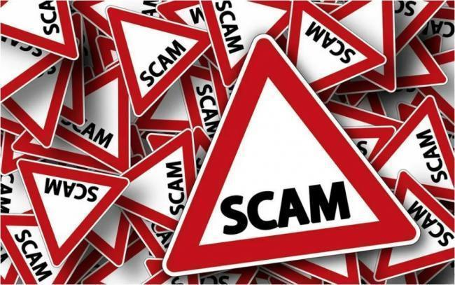 Warning of cyber scammers
