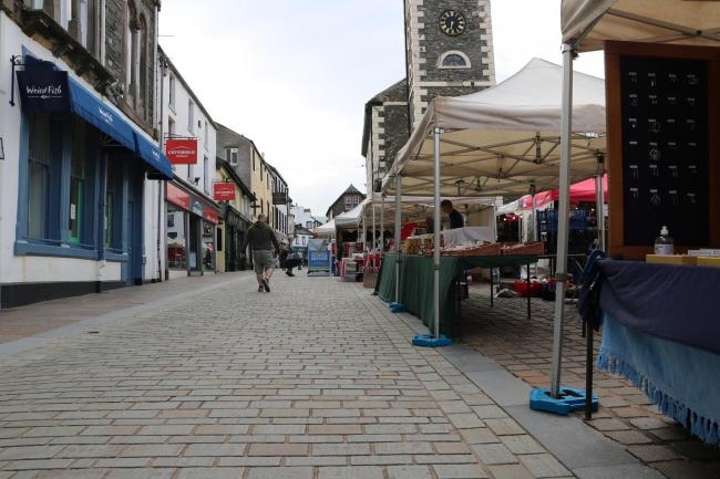 Keswick Market. Picture: Allerdale Council (November 4, 2020)