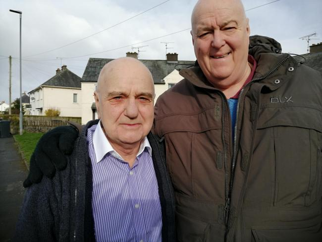 Len Davies is being supported by Councillor Alan Smith in his fight to change the law