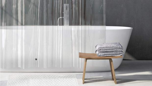 Times and Star: A clean shower liner will make your bathroom much more welcoming. Credit: Amazon