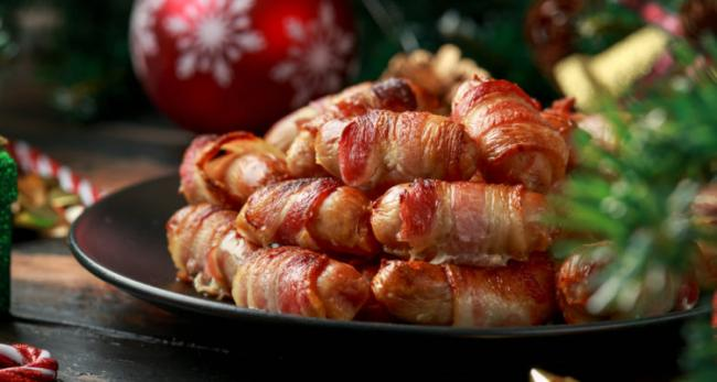 Would you have pigs in blankets on your barbeque? (Photo: M&S)