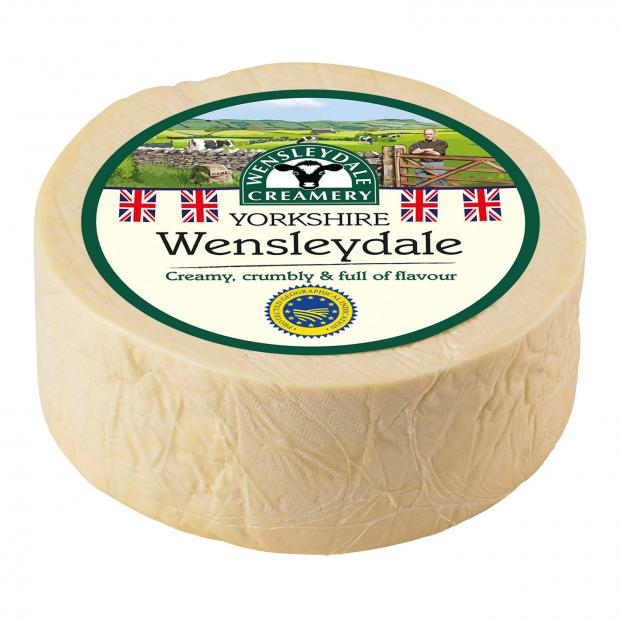 Times and Star: Wensleydale cheese. Picture credit: Wensleydale Creamery