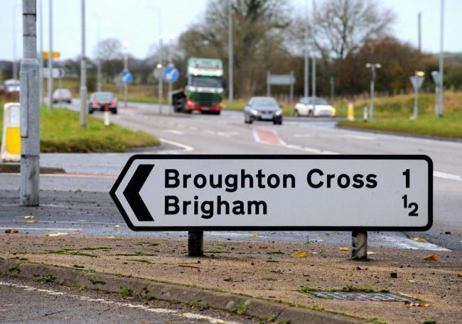 Fund named for roundabout project for staggered junction at Broughton/Brigham on A66