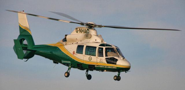 Great North Air Ambulance called out in Clifton