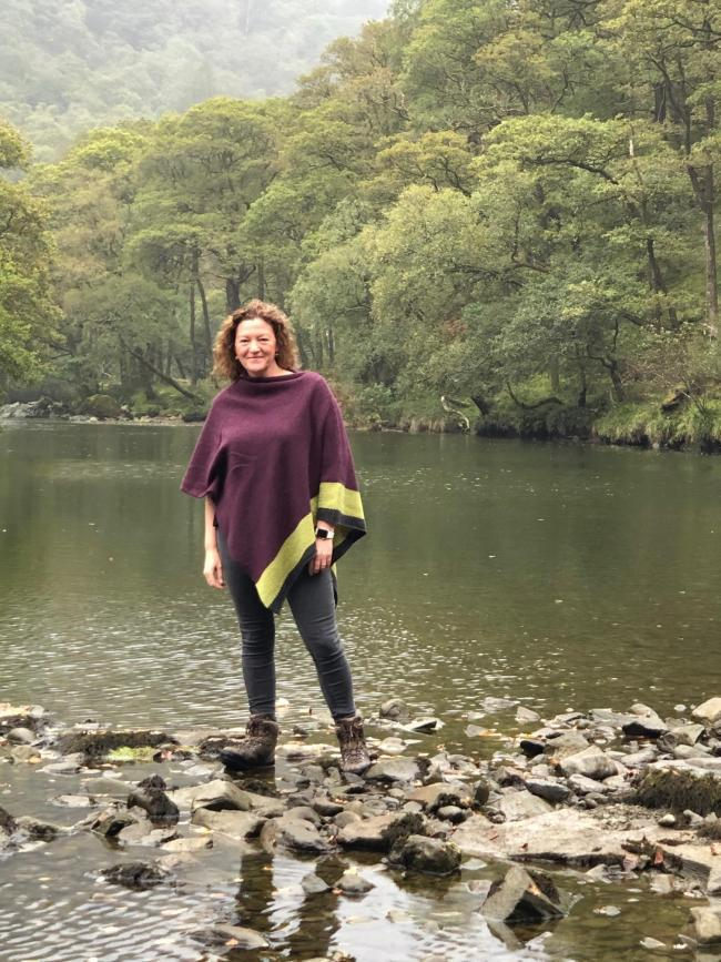 Project winner: Tara Vallente from Keswick has won a Litfest accolade for her podcast about walking in Borrowdale Valley