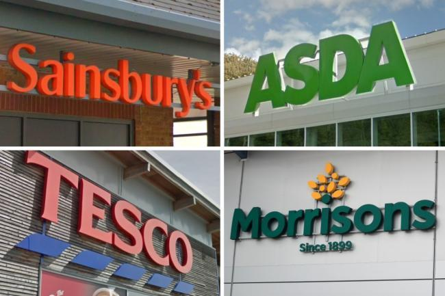 supermarket opening times for Asda, Tesco, Sainsbury's, Morrisons, M&S, Aldi and Lidl. Picture: Newsquest