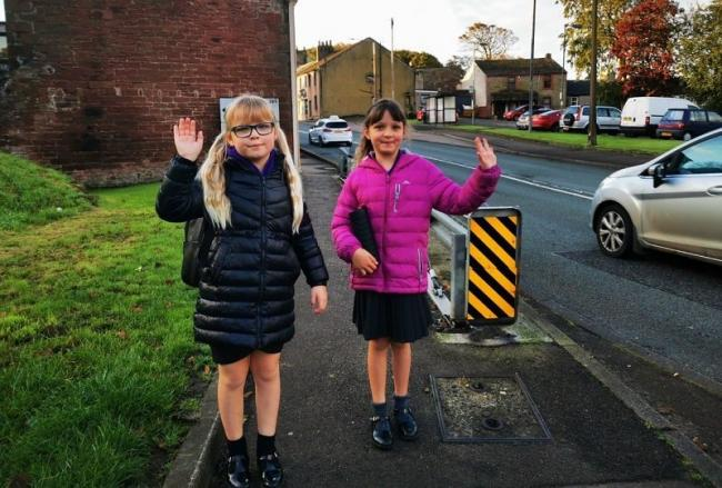 SMILES: Walk to School Week has been a success across Cumbria.