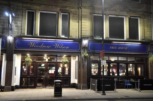Woodrow Wilson in Botchergate is one of eight outlets run by JD Wetherspoon in Cumbria