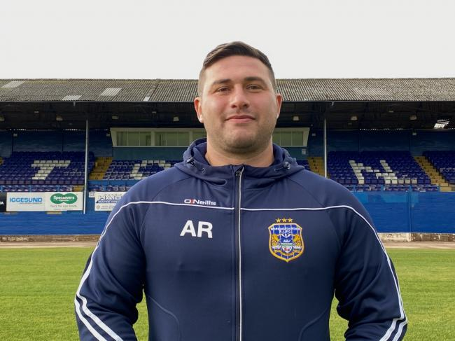SIGNED UP: Adam Ramsden has agreed a new deal with Workington Town  	      Picture: Gary McKeating