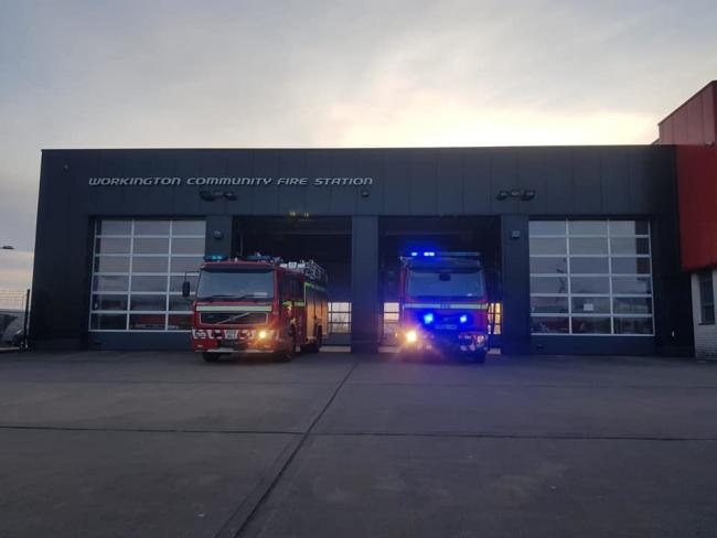 Workington Fire Station. Picture: Workington Fire Station