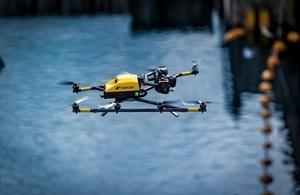 Sellafield experts join drone testing squad