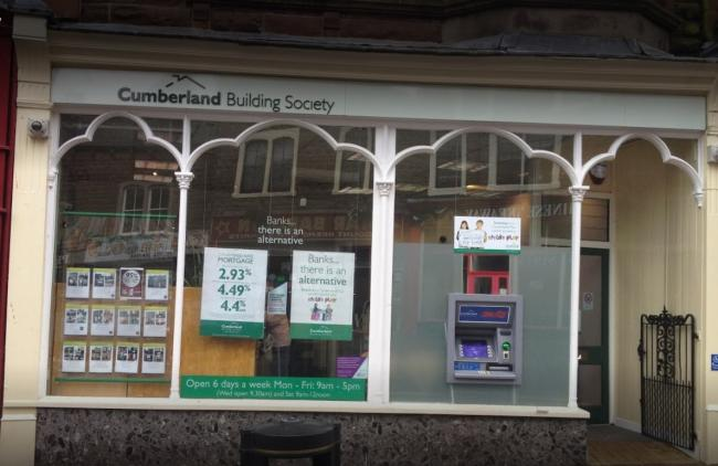 Cumberland Building Society in Maryport