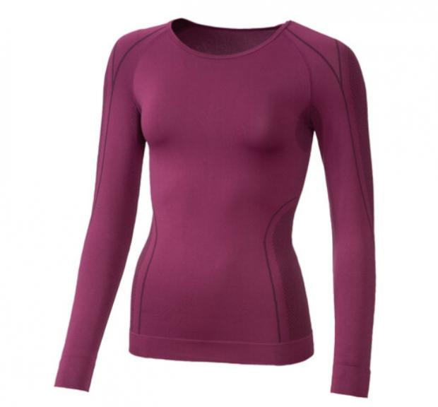 Times and Star: Crivit Ladies' Seamless Thermal Long- Sleeve Vest. (Lidl)